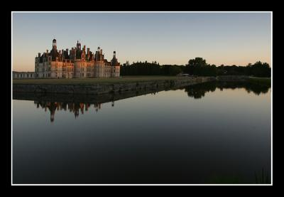 Chambord, late afternoon...