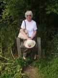 Jean at Flatford
