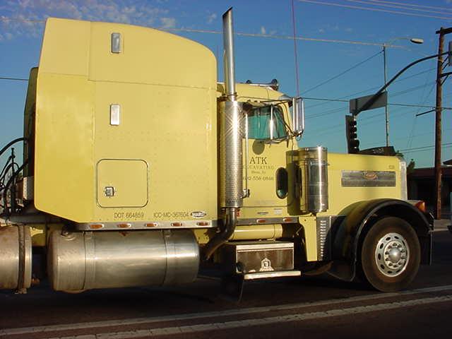 beautiful big truck in a big way