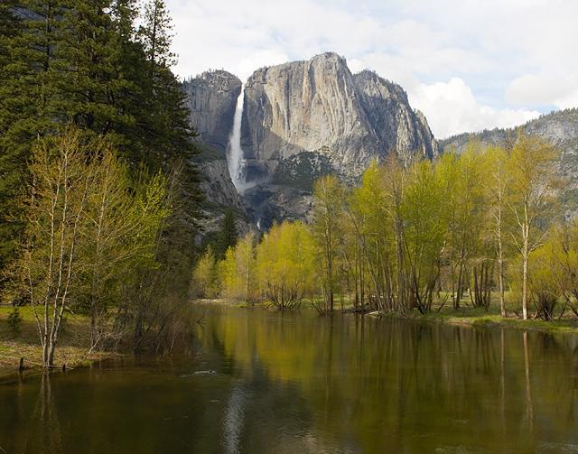Merced River Looking Towards Yosemite Falls