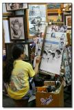 Artist - Chiang Mai Night Bazaar