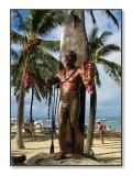 Statue of Duke KahanamokuWaikiki Beach, Oahu