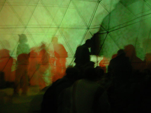 Inside The Reiorient Dome
