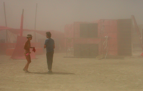 Dust Storm at Reorient