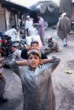 Boy in alley, Peshawar