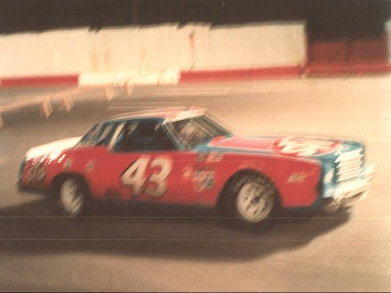 Richard Petty at Nashville