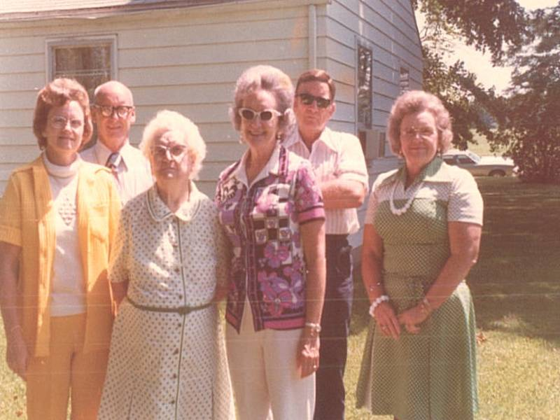 Family Reunion Aug. 1974