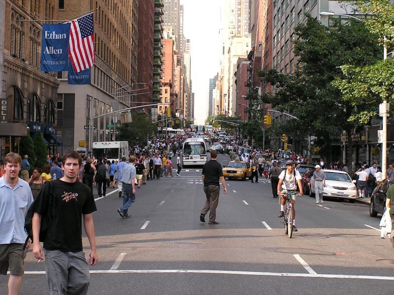 NYC - start of blackout
