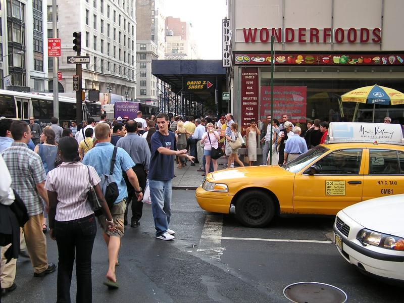 NYC - directing traffic