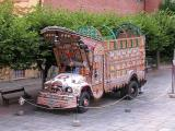 A bus of one of the many Pakistani immigrants from the 70s