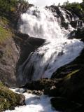 The lady singing on the waterfall is from Norwegian mythology