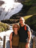 Obligatory couple shot in front of waterfall