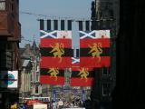 Edinburgh: Royal Mile during Fringe Festival