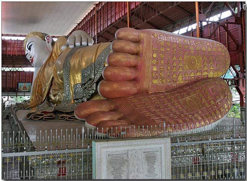 Reclining Buddha - Yangon