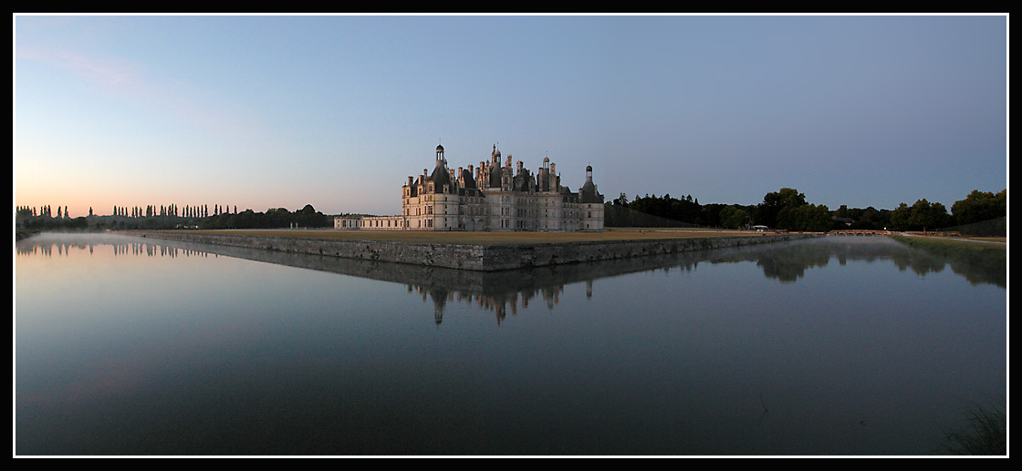 The castle at dawn
