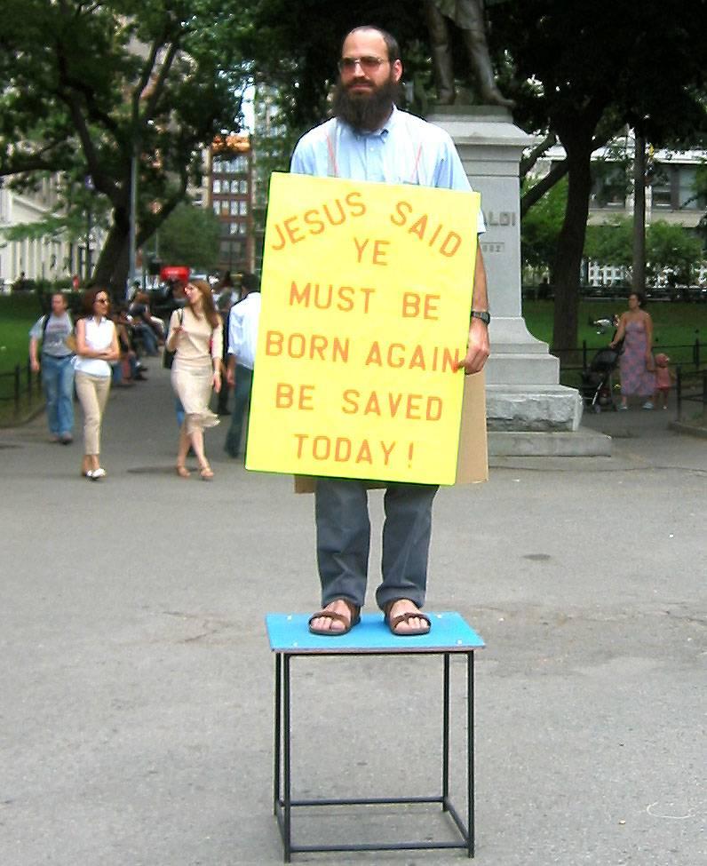 Jesus Born Again Fundamentalist