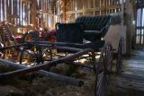 inside my dad's barn