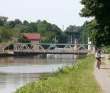 Lift bridge in Lockport