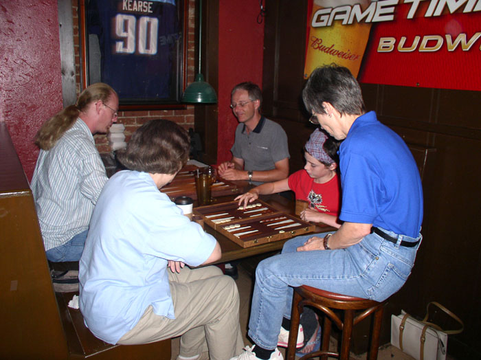 BackGammon Summer School