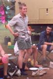 xmas day - Chris & his safari pants