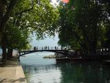 Annecy - lovers' bridge