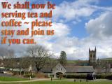 'Tea and coffee' slide from the 'Buckfast Abbey' series