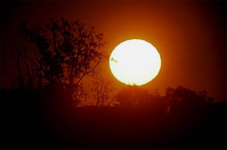 Setting Sunball