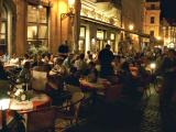 Dining at night (Old Town Square)