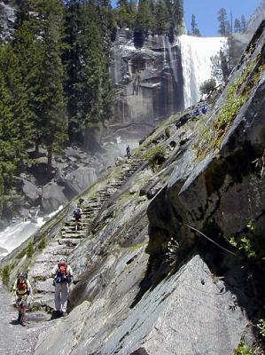 Mist Trail, Yosemite by Eric Hatch