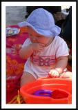 Noelle in Myrtle Beach, July, 2004