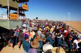 The crowd awaiting the Birdsville Cup