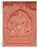布达拉宫里的浮雕(度母?)