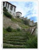 布达拉宫前的石阶