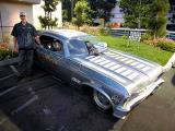 Randy Walls funny car (with Randy)