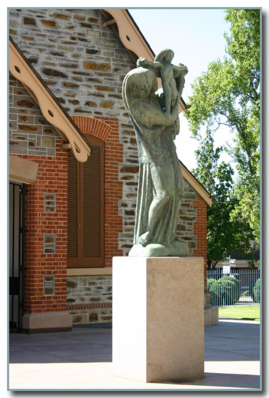 Statue at Art Gallery