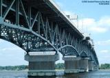 The Coleman Bridge at Yorktown, Virginia stock photo #6691
