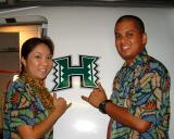Who Supports the UH Warriors?  WE DO!
