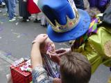 Face Painting on Fat Tuesday
