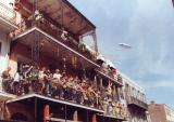 Balconies on Bourbon Street