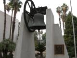 Liberty Bell outside courthouse