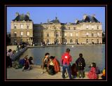 The Luxembourg palace...
