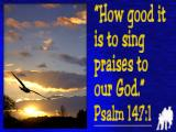 'Psalm 147v1' slide from the 'Martock 04' series