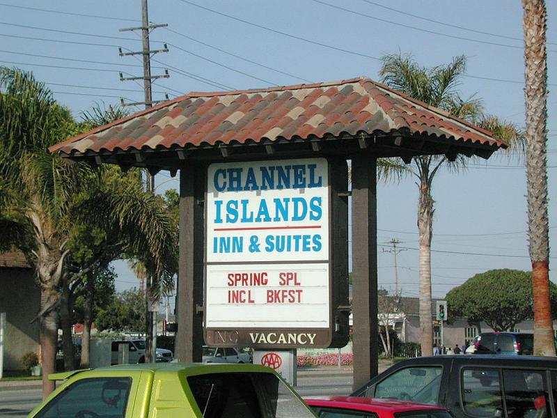 Our first evening was spent at the Channel Islands Inn