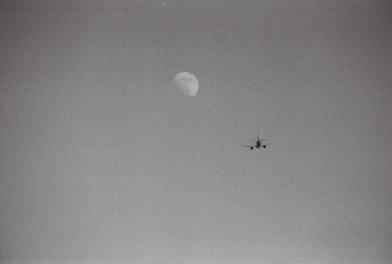 Moon over Rio Salado