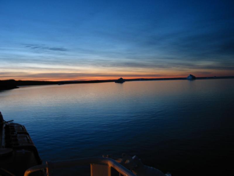Blues before dawn...
