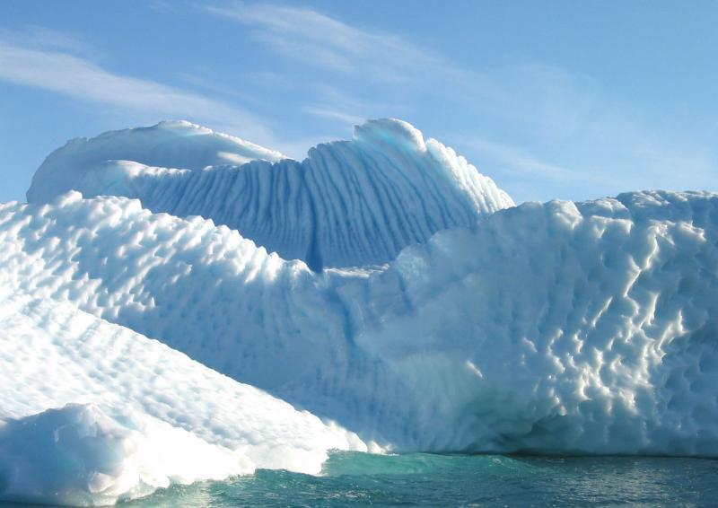 Molar Iceberg  Texture