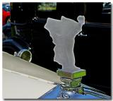 Custom Glass Rolls Hood Ornament
