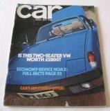 July 1971 issue of Car Magazine