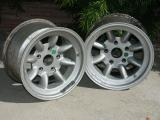 Minilite 9x15 Wheels, Magnesium (De Haven)