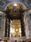 St Peter's High Altar Baldachino